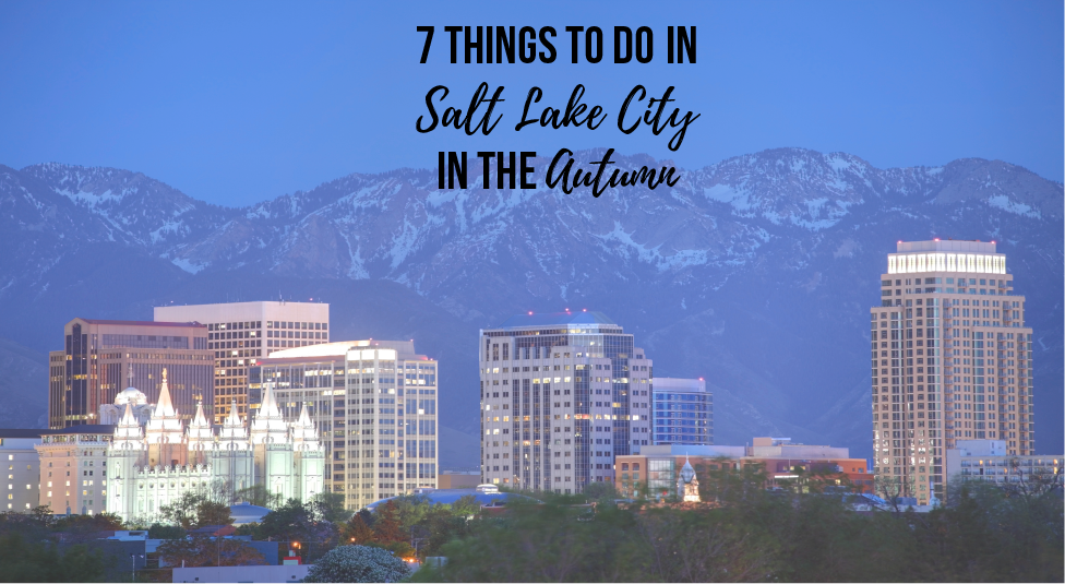 SLC fun activities for the fall and autumn